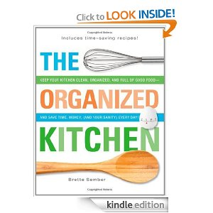organized kitchen kindle freebie