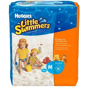 huggies little swimmers, diaper deals