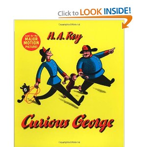 Curious George - Hardcover book