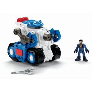 Fisher-Price Imaginext Robot Police Tank - Amazon Toy Deal