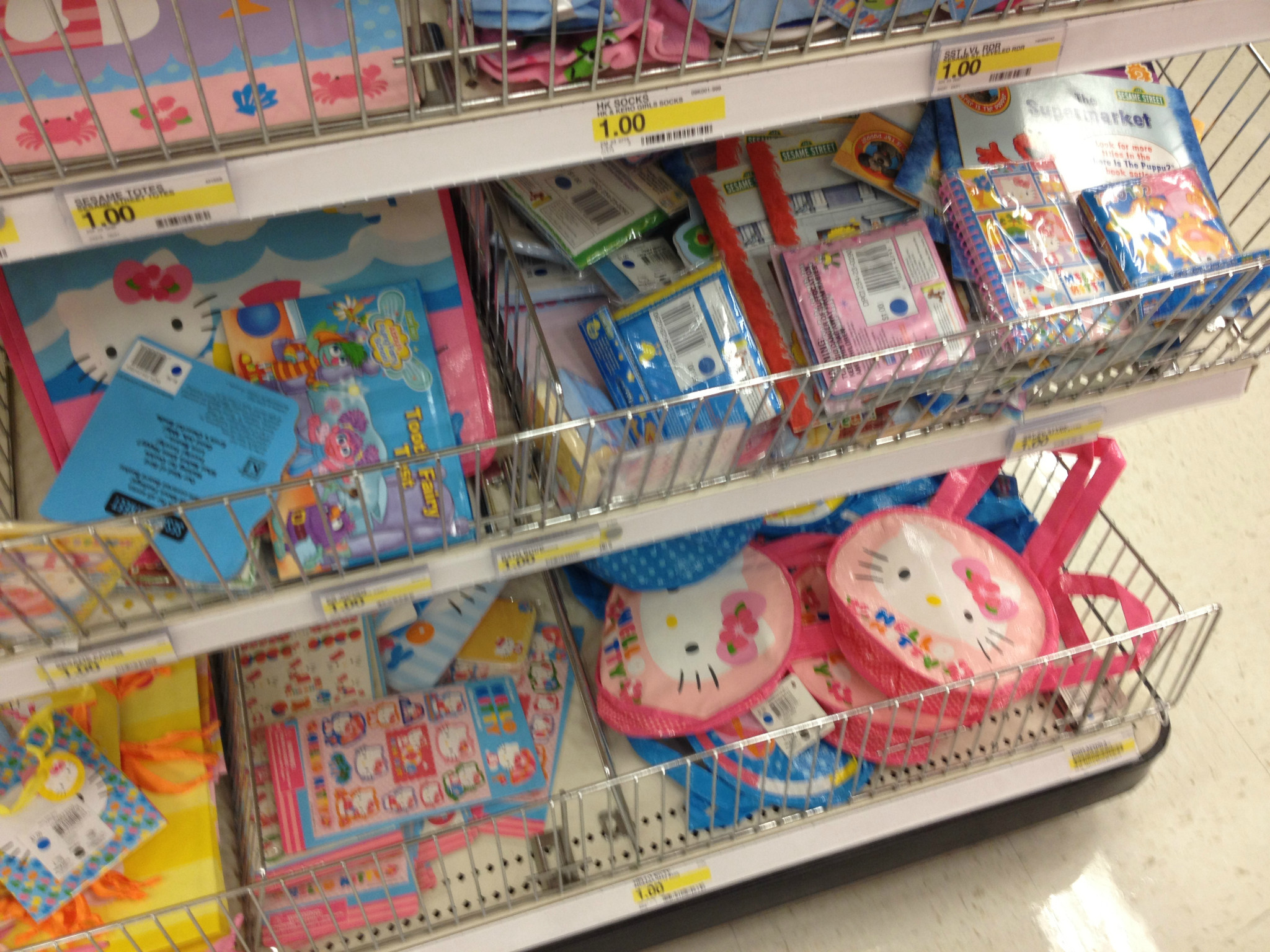 hello kitty target dollar spot