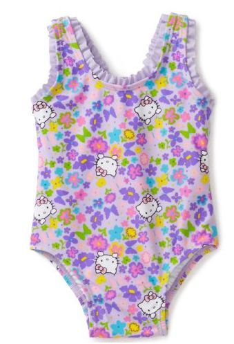 Infant Hello Kitty Bathing Suit