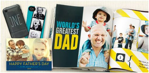 Shutterfly Father's Day Deal