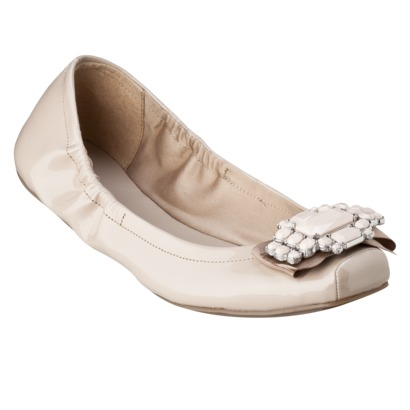 Women's Mossimo® Venda Jeweled Flats - Assorted Colors