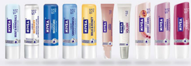 free nivea lip care product