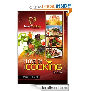 kindle freebie - love of cooking