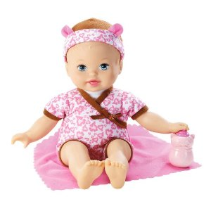 mattel little mommy baby so new