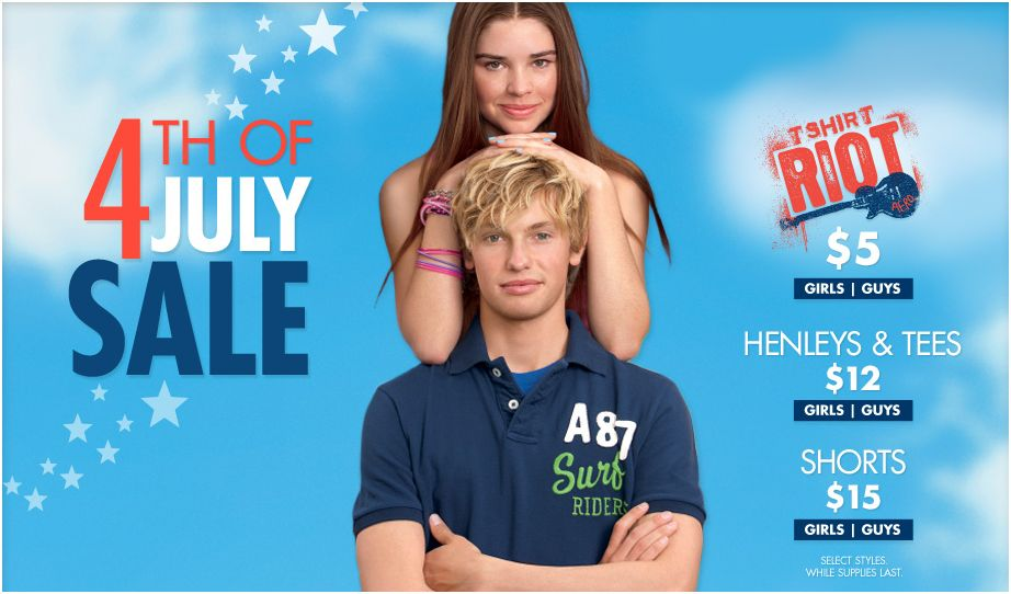 Aeropostale 4th of July Sale