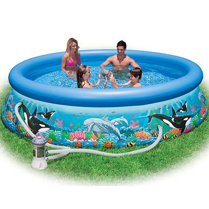 Intex Easy Set Kid's Ocean Reef Pool - Round