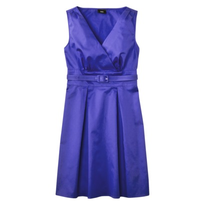 Mossimo® Womens Faux Wrap Belted Dress - Assorted Colors