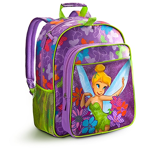 Personalizable Tinker Bell Backpack - Disney Store