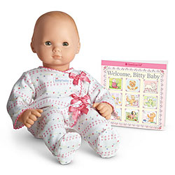 Pink Bow Sleeper for Dolls + Book