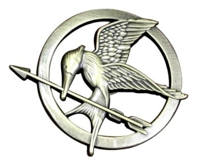Prop Replica Mockingjay Pin - Hunger Games