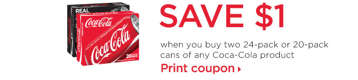 coca cola cans coupon