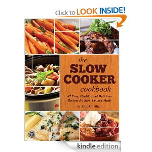 kindle freebie slow cooker cookbook