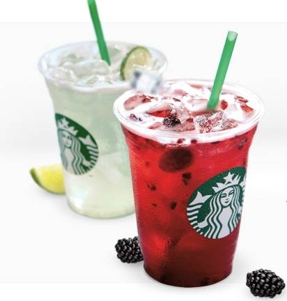 starbucks refreshers freebie