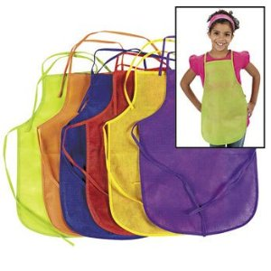 12 Pack Children's Artists Aprons