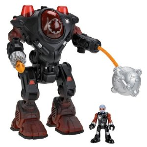 Fisher-Price Imaginext Robot Police Villain Robot - Amazon Toy Deal