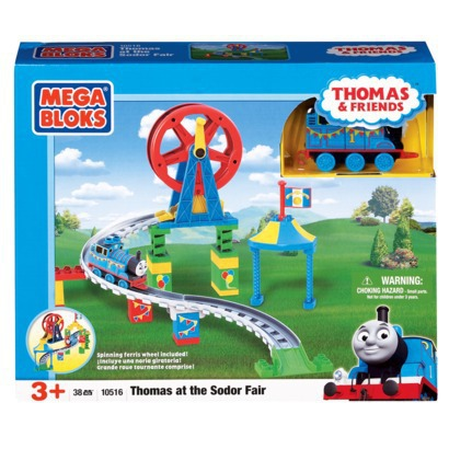 MegaBloks Thomas Buildable Sodor Fair