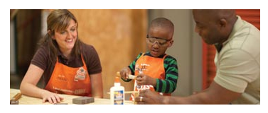 home depot kids in-store event