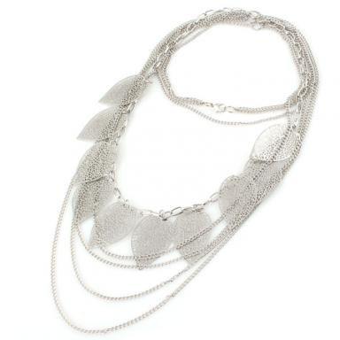 amazon jewelry deals multilayer leaf necklace