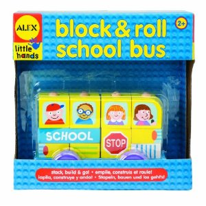 Alex Block and Roll - School Bus