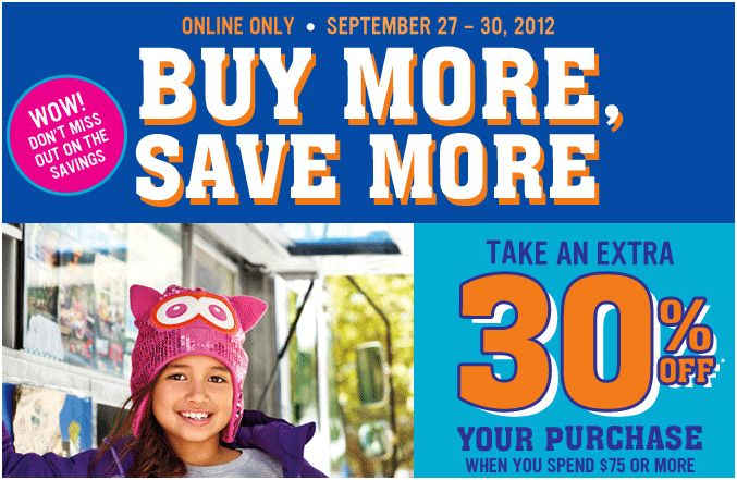 Children's Place Buy More Save More Sale