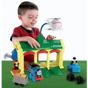 Fisher Price Thomas the Train Tidmouth Sheds Playset