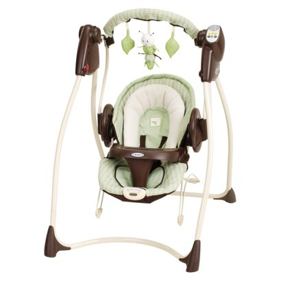Graco Sprout 'n Grow Collection Sweet Pea 2-in-1 Swing and Bouncer