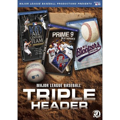 Major League Baseball Triple Header (3 Discs)
