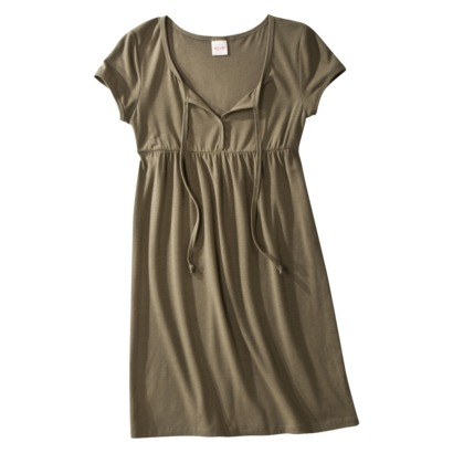 Mossimo Supply Co. Juniors Scoopneck Keyhole Dress