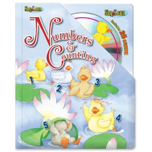 Numbers and Counting Sing & Learn Padded Board Book With CD