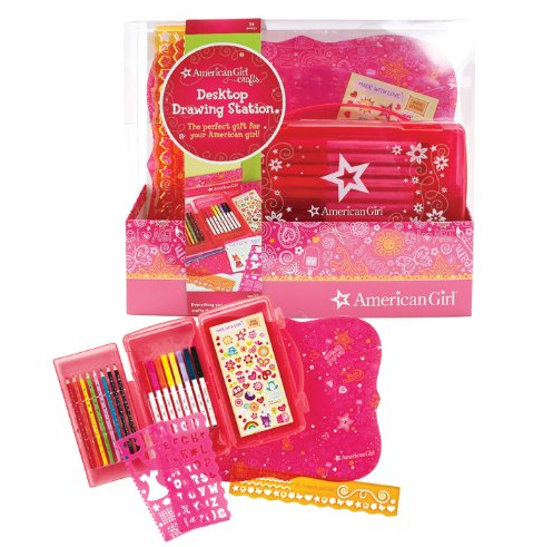 American Girl Crafts Desktop Drawing Station