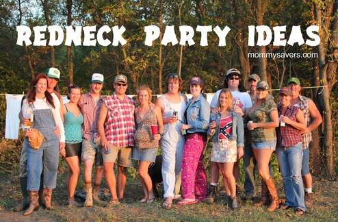 redneck party ideas