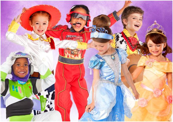 The Disney Store Halloween Costumes