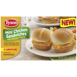 Tyson Mini Chicken Sandwiches