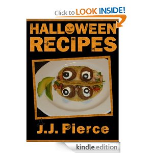 free book for kindle halloween recipes