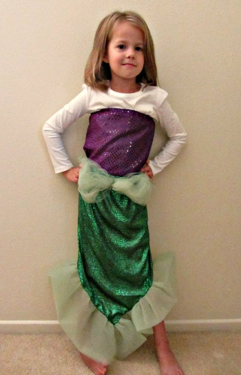 diy halloween costumes mermaid