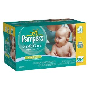 diaper deals pampers baby wipes