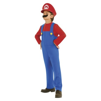 Boy's Mario Costume - Halloween Costume