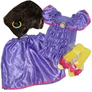 Dora The Explorer Girls Halloween Costume Set