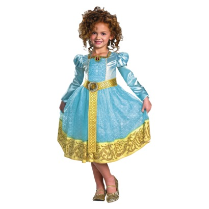 Girl's Brave Merida Deluxe Costume