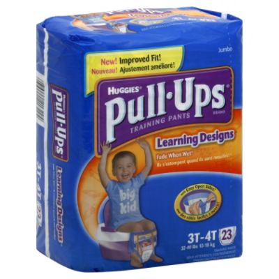Huggies Pull-Ups Learning Designs