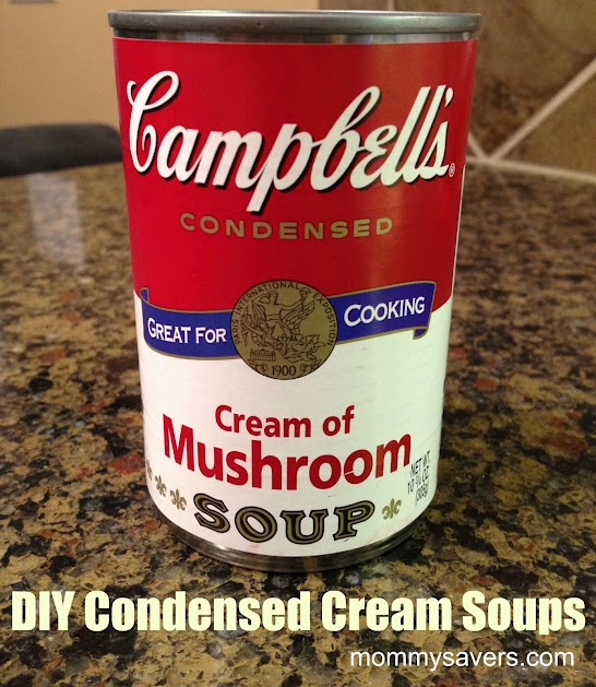 homemade condensed cream soups