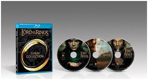 Lord of the Rings Trilogy - Blu-ray