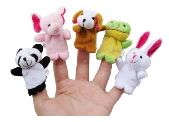 amazon toy deals velvet finger puppets