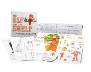 the elf on the shelf amazon deals activity book