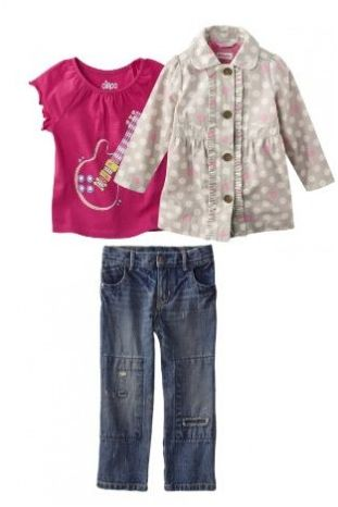 Target Clothing Clearance - Little Girl Look