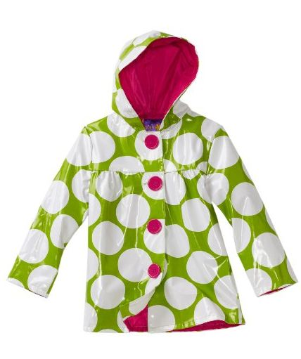 Toddler Girls Raincoat
