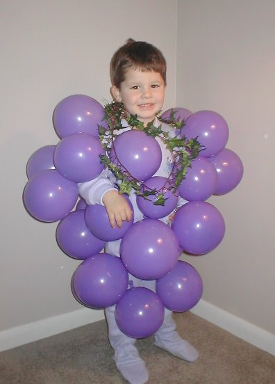 diy halloween costumes grapes